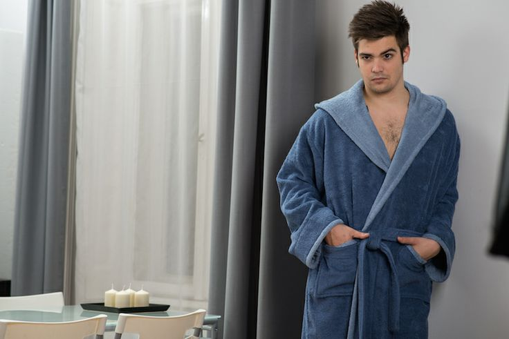 Belmanetti bathrobe man collection Spring- Summer 2014 Item #4355
