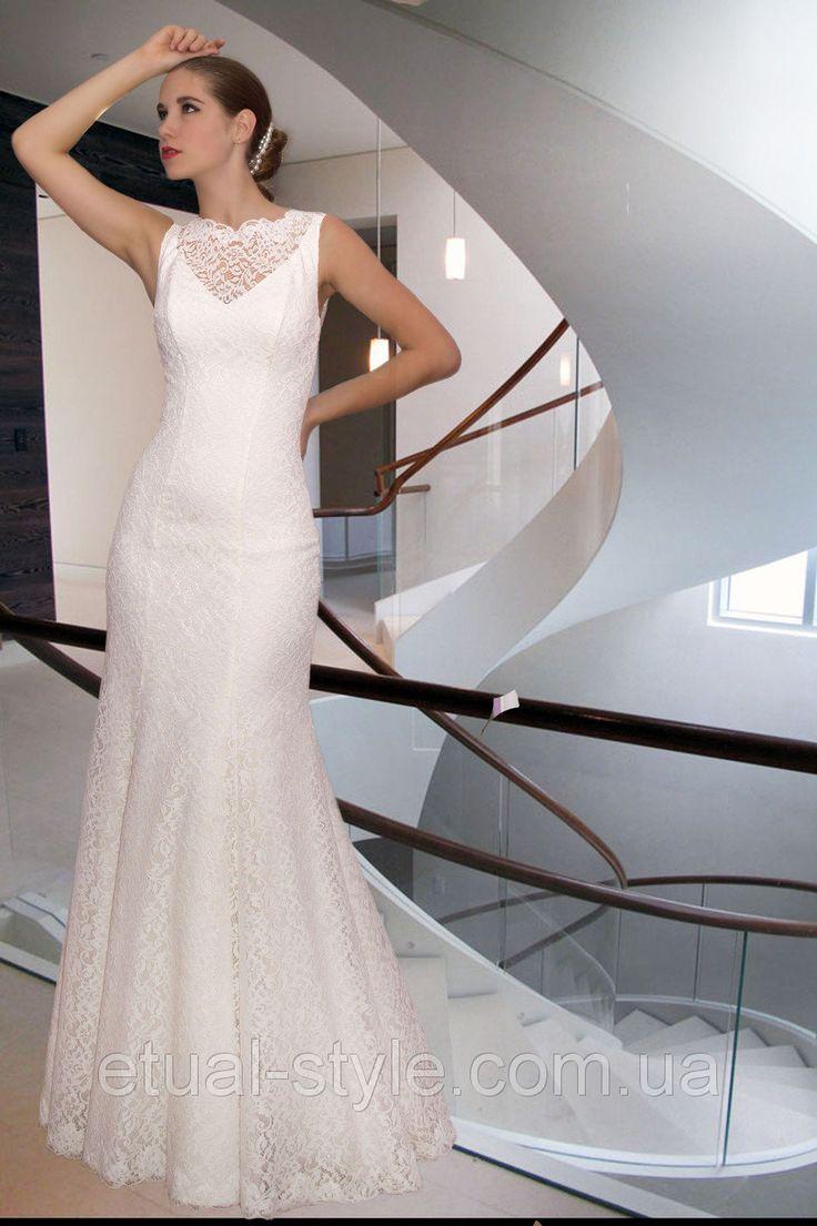 Свадебные платья с силуэтом Русалка