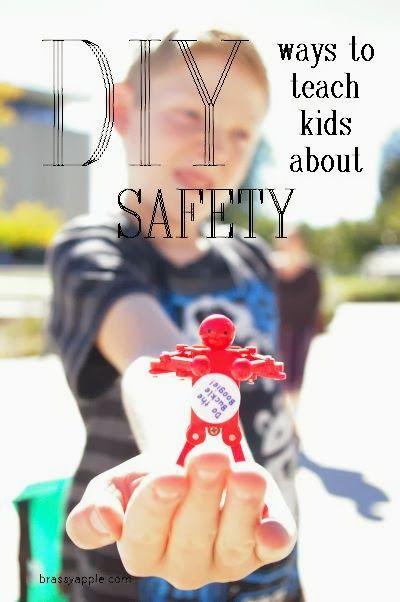 DIY Activities to teach kids about Safety - BrassyApple.com #preschool #scouts