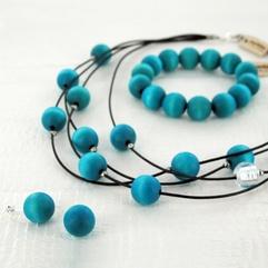 Vilkas jewelry set by Aarikka