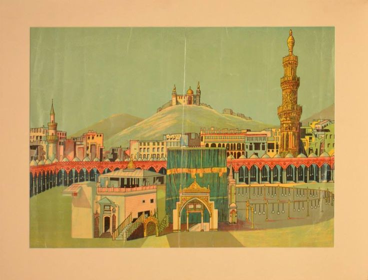 Painting of Kaaba