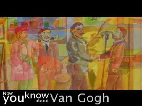 """van gogh for children // could be part of a """"minds on"""" engagement strategy"""