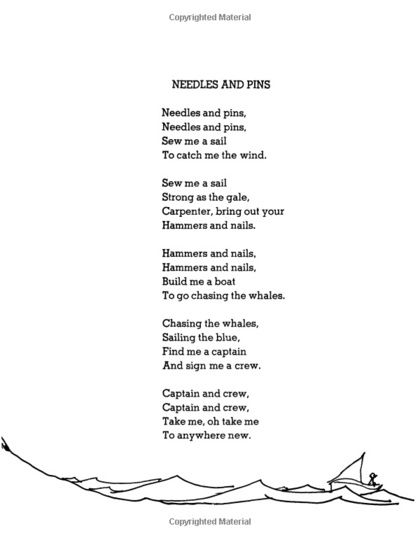 past simple poems for kids