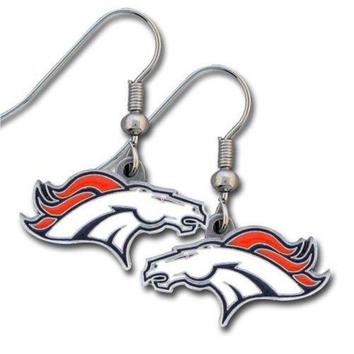 NFL Denver Broncos Dangle Earrings Siskiyou Gifts Co, Inc. http://amzn.com/B000TFSD82?tag=thep0658-20