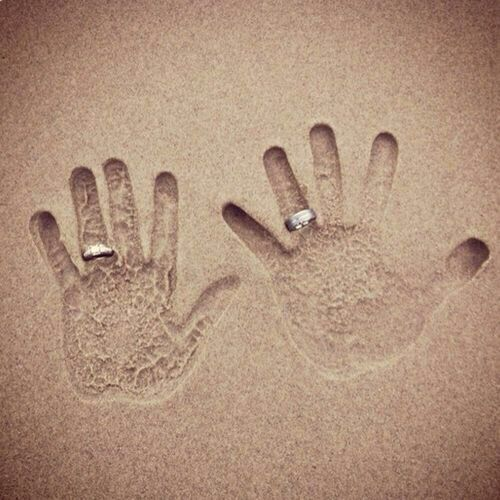 Perfect Beach Wedding Photo!!