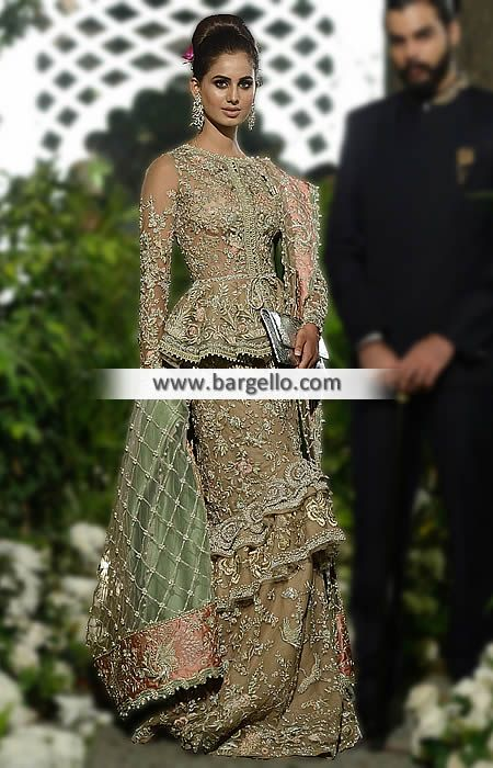 Fabulous Bridal Dress with Attractive Lehenga A breathtaking edition to our fabulous wedding dre