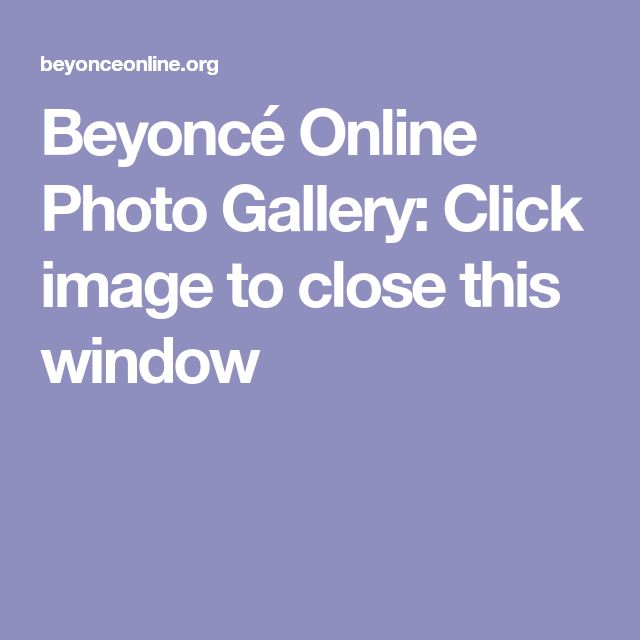 Beyoncé Online Photo Gallery: Click image to close this window