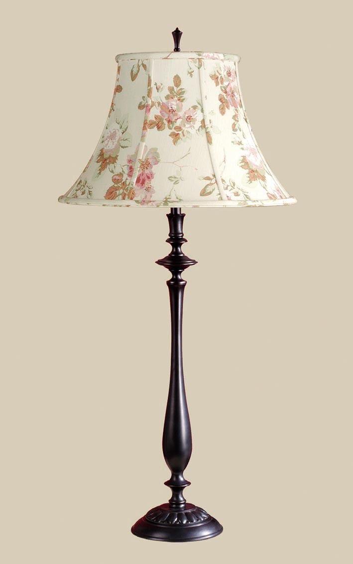 Laura Ashley Home Kia Table Lamp with Stowe Shade | Wayfair