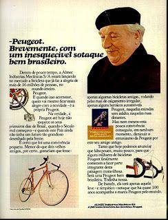 Anúncio bicicleta Peugeot - 1977