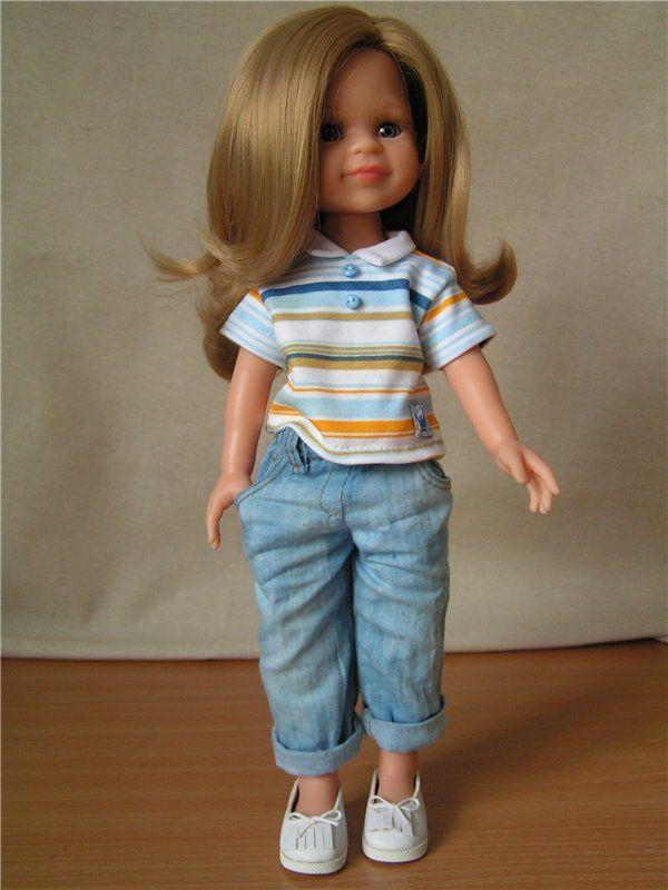 Полосатая коллекция. Мои первые девочки от Paolo Reina. / Paola Reina, Antonio Juan и другие испанские куклы / Бэйбики. Куклы фото. Одежда для кукол