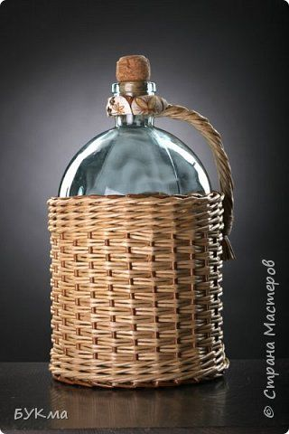 Декор предметов Плетение Профессиональное фото Трубочки бумажные