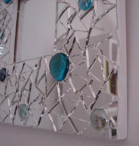 Miroir mosaïque, une création originale et unique ! : Mosaiques par leslie-sang-tao