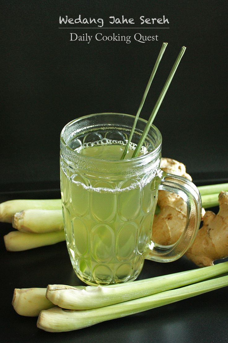 Wedang Jahe Sereh – Ginger Lemongrass Tea Recipe at http://dailycookingquest.com/by-cuisine/indonesian/wedang-jahe-sereh-ginger-lemongrass-tea