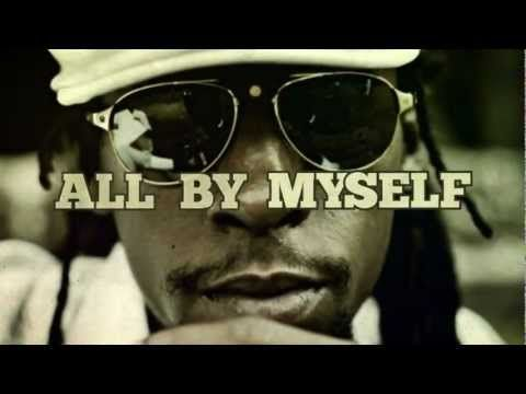 ▶ Jah Cure - All By Myself ft. 2Pac [Lyric Video]