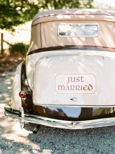 Getting married in style