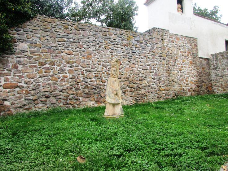 Socha u zdi - Kadaň - Česko