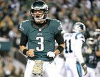 awesome 3 years ago today Mark Sanchez celebrated his B-Day winning his first start as an Eagle, on Monday Night Football