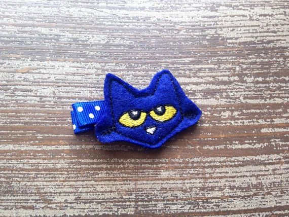 Pete the Cat Hair Clip Pete the Cat Hair by HBSouthernInspired