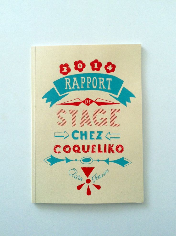 105 best rapport de stage images on pinterest