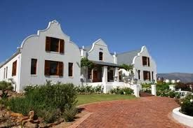 cape dutch houses Tulbach S A