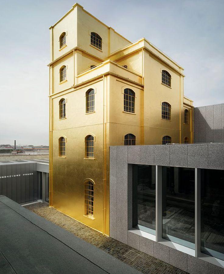 MODERN MUSEUM |PRADA fondazione Milano Italia | bocadolobo.com/ #modernarchitecture #architecture