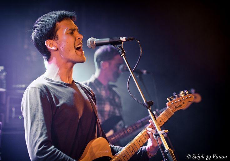 Justin Nozuka performing at La Maroquinerie in Paris, Île-de-France on April 9th 2014.