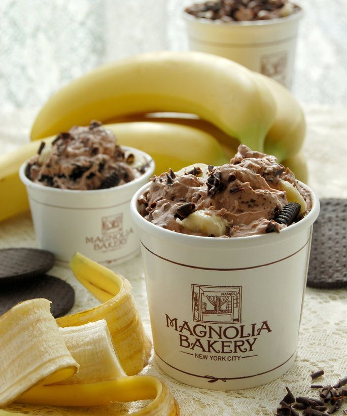 Just when you thought Magnolia Bakery's banana pudding couldn't get any better, they add chocolate.