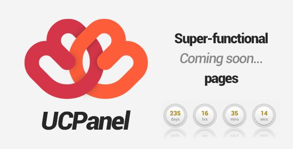 UCPanel - Super-functional Coming Soon pages - CMS . UCPanel has features such as Compatible Browsers: IE9, IE10, Firefox, Safari, Opera, Chrome, Software Version: PHP 5.x