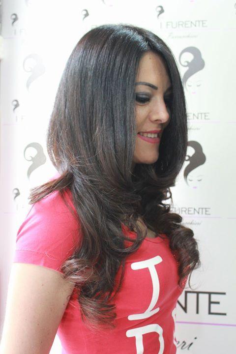 Il sorriso di una #Donna dice tutto!! #hair #longhairdontcare #selfie #parrucchieri #parrucchiere #brown #fashion #brunette #coolhair #napoli #style #curly #black #haircolour #ragazze #modelli
