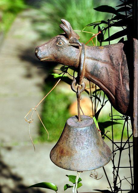Dinner bell in the garden.....