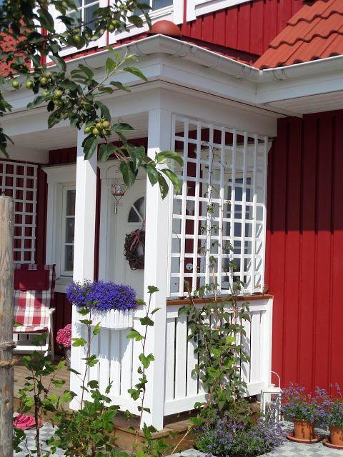 Schwedenhaus fertighaus veranda  Die 25+ besten Schwedenhaus fertighaus Ideen auf Pinterest ...