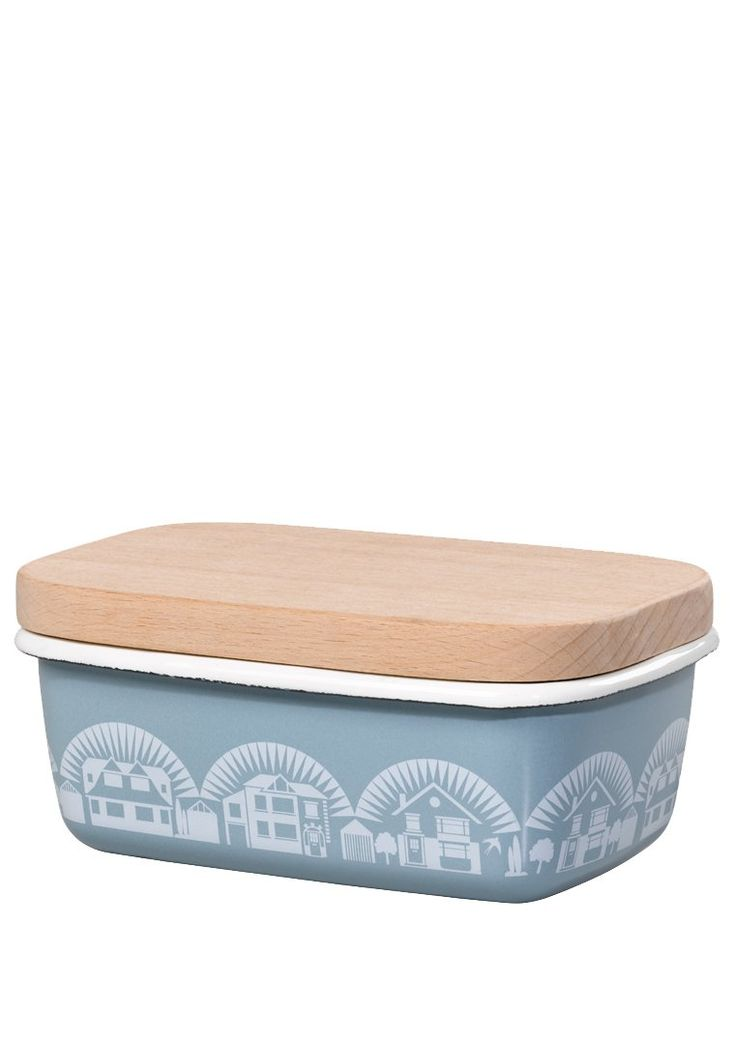 Enamelware butter dish from Mini Moderns. I,love everything they do!