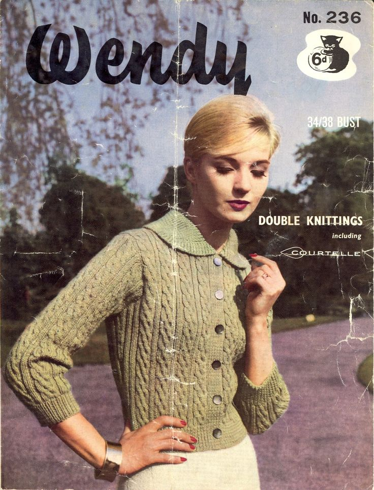 505 Best Free Vintage Knitting Patterns Images On Pinterest