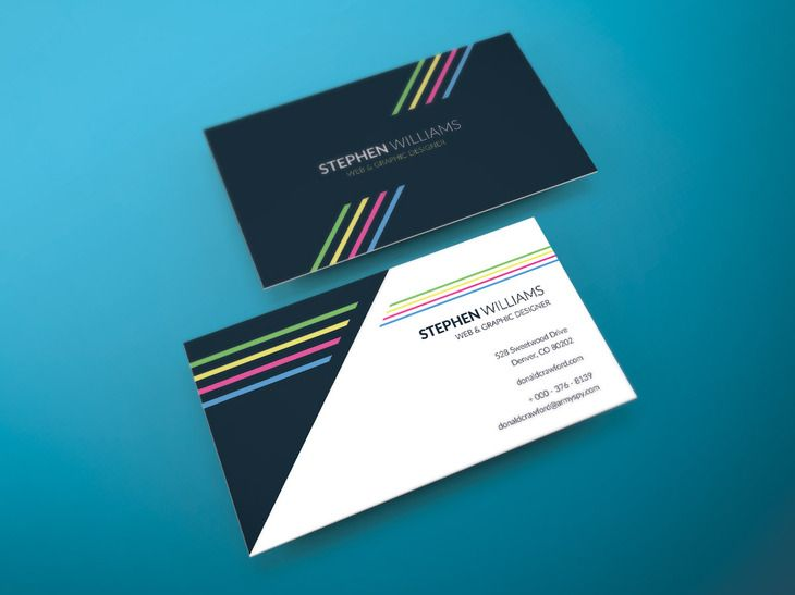 203 best free print psd vectors and indesign images on pinterest two side print ready business card preview reheart Images