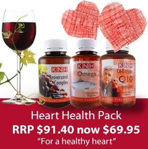 A healthy heart is necessary for a long and healthy life. This fantastic offer combines the benefits of Omega 3 fish oil with two powerful antioxidants, Resveratrol and Co-Q10 Complex.