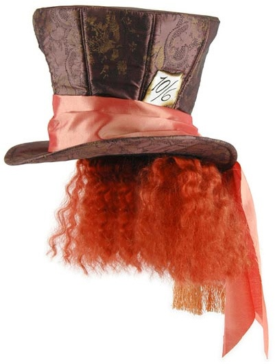Mad Hatter Hat with Hair, Alice In Wonderland™ - Alice in Wonderland Costumes at Escapade™ UK - Escapade Fancy Dress on Twitter: @Escapade_UK