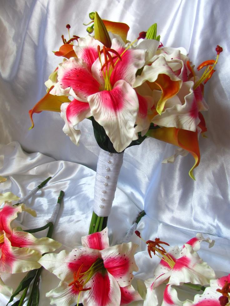 Casablanca Brides Bouquet 36