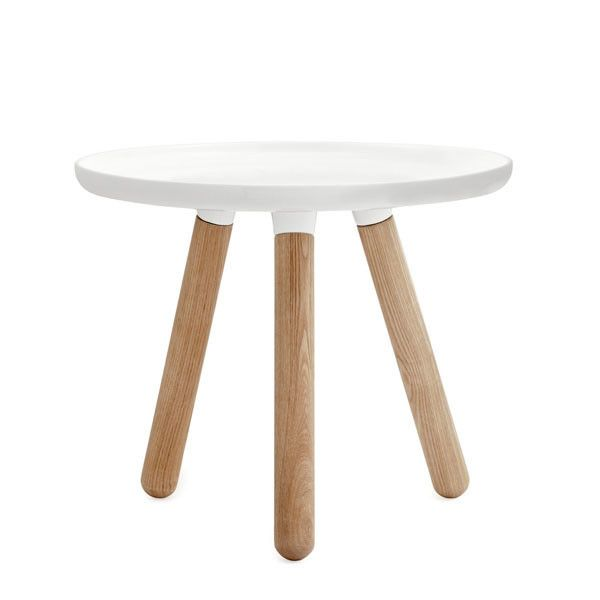 Small Normann Copenhagen Tablo Table - White, $300
