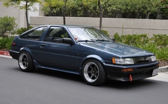 1986 Toyota Celica GTS Levin AE86 For Sale Front