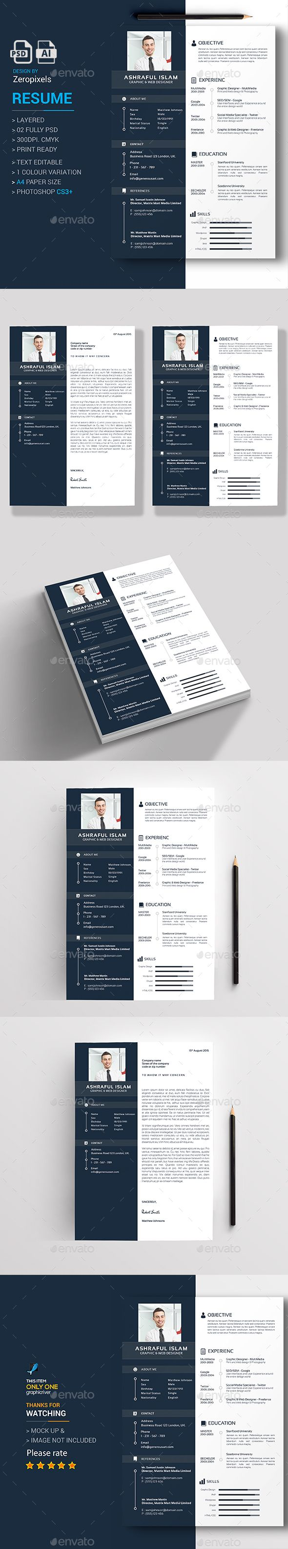 57 best Hot CV Designs images on Pinterest | Hot, Design resume ...
