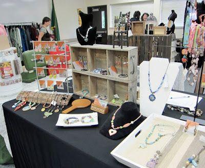 Art Jewelry Elements: Jewelry Booth Progression