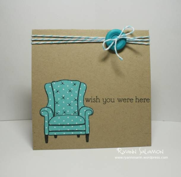 Suh-weet!Chairs Cards, Cards Stamps, Cards Ideas, Charms Chairs, Polka Dots Chairs, Cards Creations, Diycards, Crafty Inspiration, Diy Cards