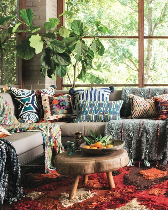 17 best ideas about hippie living room on pinterest for Living room ideas hippie