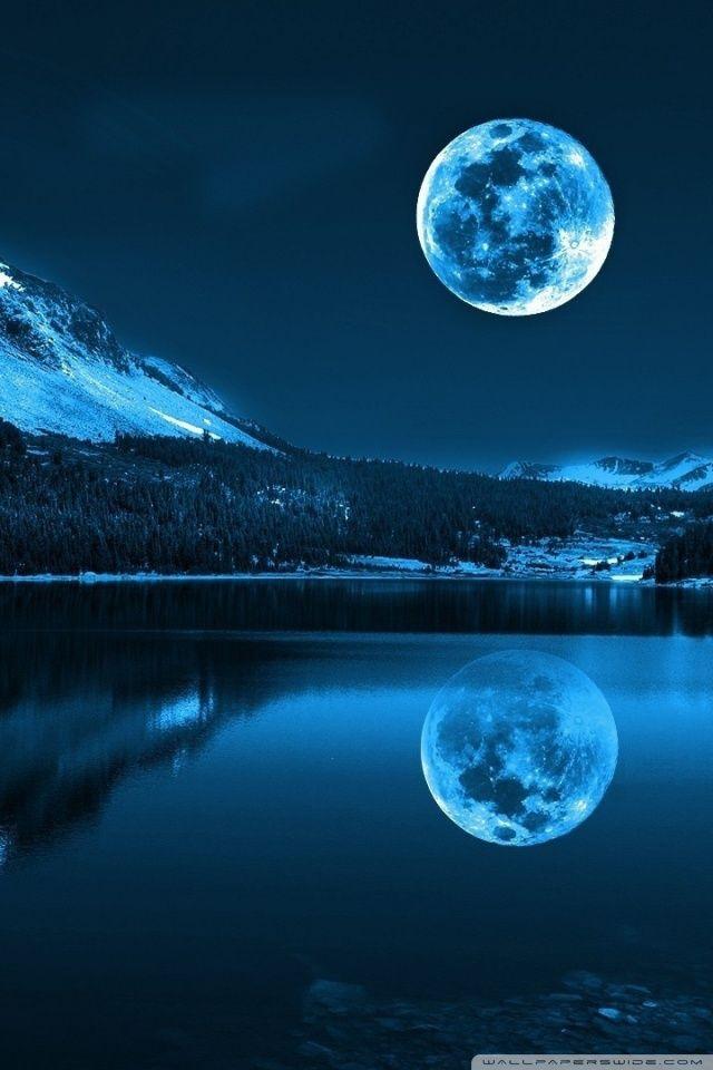Moonlight night hd desktop wallpaper widescreen high - Cool night nature backgrounds ...