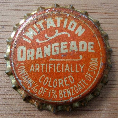 Orangeade Bottle Cap