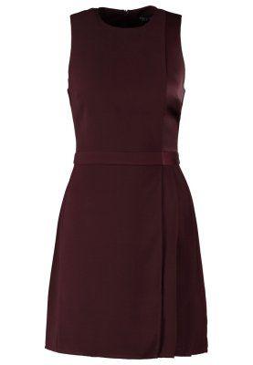 Sukienka letnia - burgundy