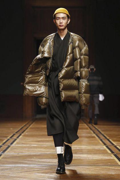 Sean Suen Fashion Show Menswear Collection Fall Winter 2018 in Paris
