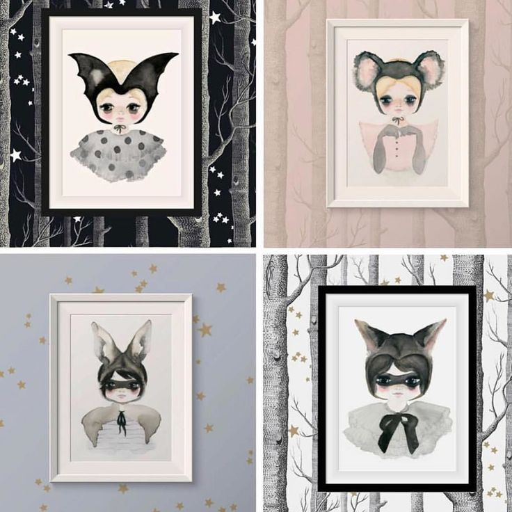 All the artwork from the Wilde Things collection is now available in 49x70cm poster size! Shop tonite for FREE Domestic SHIPPING