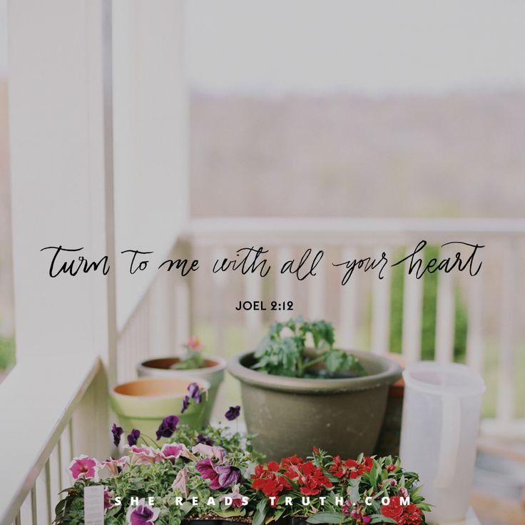 #SheReadsTruth | Joel 2:12