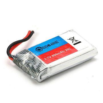 Eachine 3.7V 600mah 25C Lipo Battery for QX70 QX90 QX90C QX95 QX80 QX100 EX100 EX105 EX110 X73